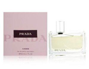 Prada Amber for Women Eau De Parfum Spray, 2.7 Oz