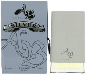 AB Spirit Silver by Lomani Eau De Toilette Spray