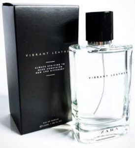 Zara Men's VIBRANT LEATHER Eau De Parfum